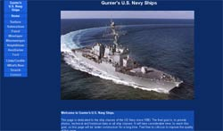 Gunter's Ships of         the US Navy